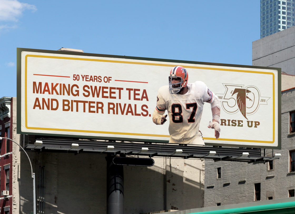 roadside billboard in new york city